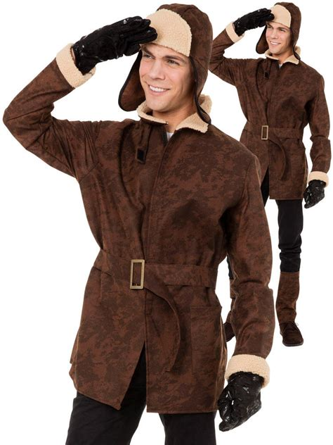 mens ww pilot costume  mens fancy dress hub