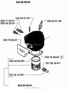 Husqvarna 257  1996 Cylinder