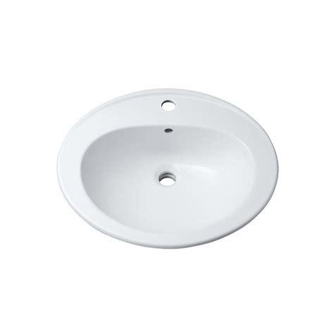 vasque ovale 56cm bastia pour salle de bains a encastrer avec trop plein trou perc 233
