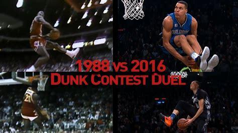 nba slam dunk contest duel    youtube