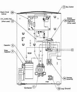 Control Board Diagram  U0026 Parts List For Model T4h460gkb100