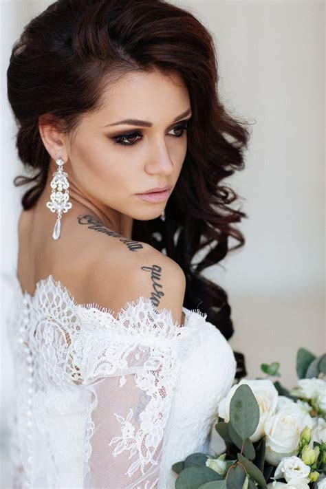 stunning ideas   wedding makeup  deer pearl flowers