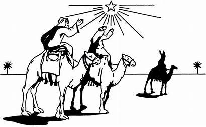 Wise Clipart Clip Christmas Graphics Wisemen Silhouette