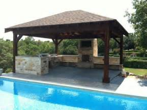 Covered Patio Bar Ideas by Triyae Com Backyard Designs Pool Outdoor Kitchen