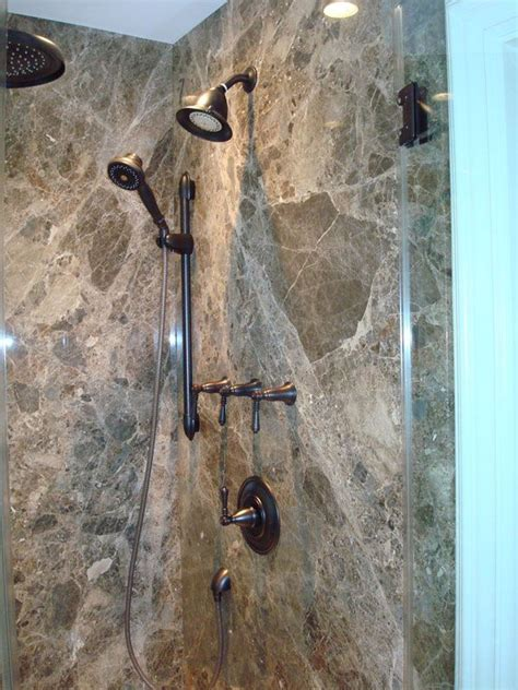 Removing Cultured Marble Shower Walls - marble shower panels no grout to clean and beautiful