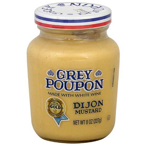 dijon mustard grey poupon dijon mustard 8 oz pack of 12 walmart com