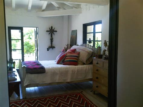 spanish revival bedroom note rug placement minimal romantic decor small homes pinterest