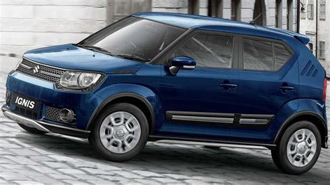 Suzuki Ignis 2019 by Maruti Launches Updated 2019 Suzuki Ignis With A Starting