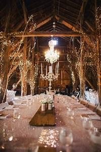 10 gorgeous barn wedding receptions With barn wedding lighting ideas