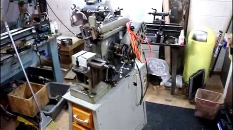 tiny basement machine shop  youtube