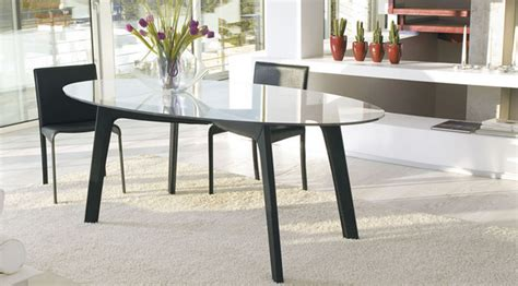 Glas Esstisch Oval by 15 Gorgeous Oval Dining Table Designs Home Design Lover