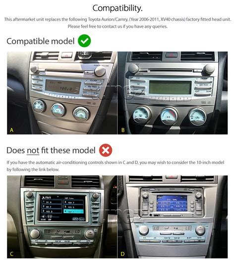 android mp car player toyota camry xv