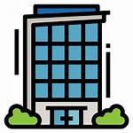Office Building Condominium Icon Icons Apartment Flat