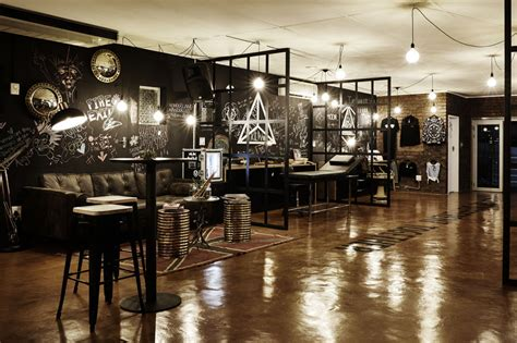 Tattoo Shop Interior Design Layout Pictures to Pin on