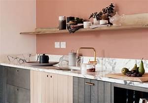 Cuisine Rose Poudré : pour quelle belle cuisine allez vous craquer elle d coration ~ Melissatoandfro.com Idées de Décoration