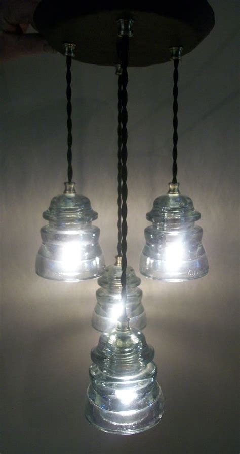 glass insulator light fixture cast iron clear armstrong