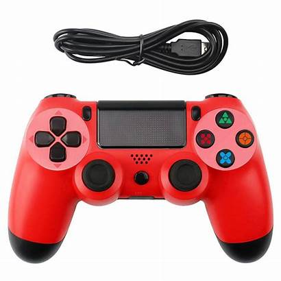Controller Ps4 Button Gamepad Handle Wired Snowflake