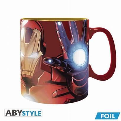Foil Iron Armored Avenger Mug Marvel X2