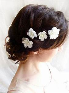 40 Bridal Flower Chain Hair Accessories For Wedding