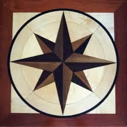 inlay wood floor beautiful inlay work nautical nautical and compass