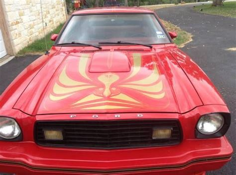 ford mustang ii king cobra  speed classic ford