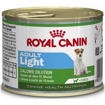 pate pour chien royal canin royal canin mini light bo 238 tes pour chien zooplus