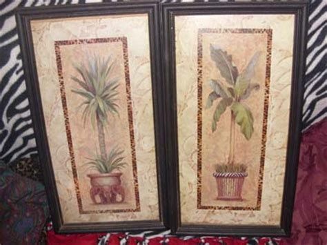 home interiors and gifts framed home interiors gifts potted tropicals framed prints