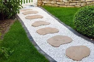 Gartenwege Aus Kies : gartenweg anlegen unterbau ~ Sanjose-hotels-ca.com Haus und Dekorationen