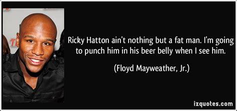 ricky hatton aint    fat man im