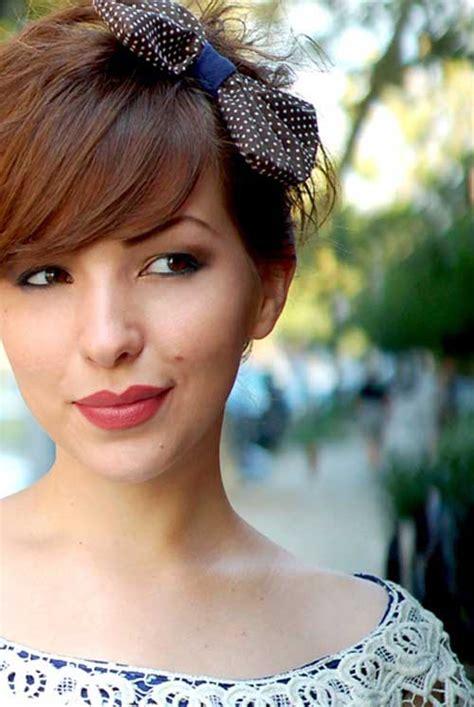 23 Cute Short Hairstyles (with Bangs) Styles Weekly