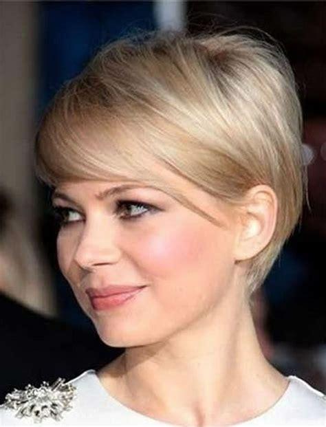 short haircuts   face thin hair ideas
