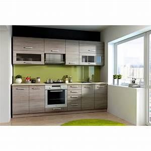 Photo De Cuisine : lassen cuisine compl te l 2m60 d cor ch ne sonoma ~ Premium-room.com Idées de Décoration