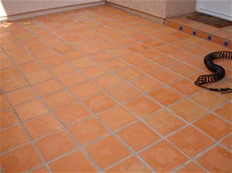outdoor saltillo tile finish removal blotchy ceramic