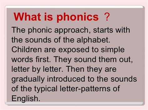 Phonics And Teaching Activities