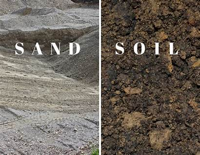 Soil Sand Landscape Difference Between Project