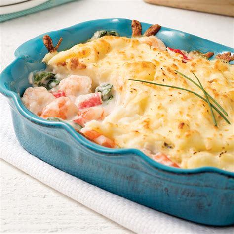 3 recette de cuisine gratin de crevettes et goberge soupers de semaine recettes 5 15 recettes express 5 15