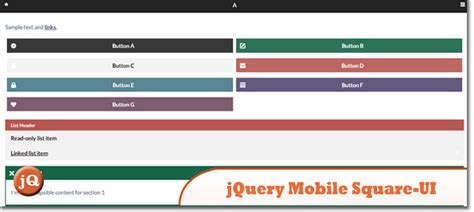 Jquery Ui Mobile by Top 25 Jquery Mobile Plugins Of 2013 Sitepoint