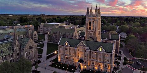 Boston College by Boston College Home Page