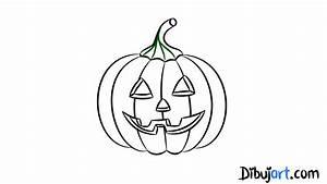 Halloween Dibujos Calabaza