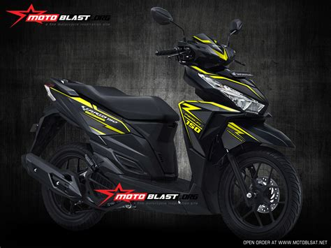 Honda Vario 110 Backgrounds by New Vario 110 Fi Auto Design Tech