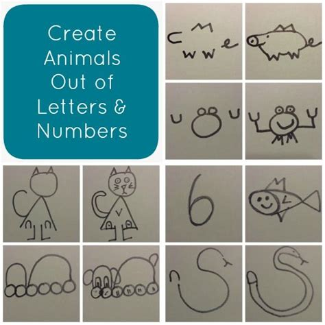 How To Draw Animals Out Of Numbers