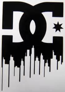 DC Logo Stickers