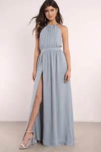 cute vintage blue dress backless dress blue sleeveless