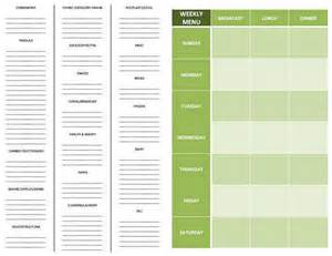 Printable Grocery List Template by Aisle