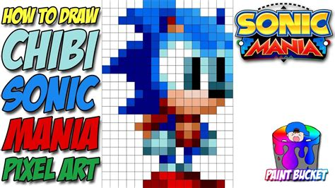 How To Draw Sonic The Hedgehog (chibi)