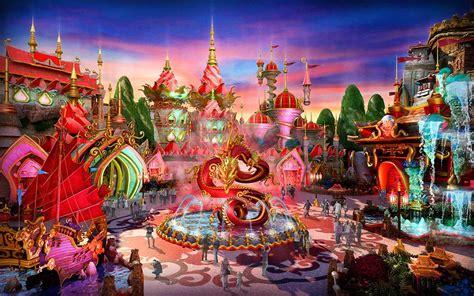 World Theme Park by Ideattack S Evergrande Fairytale World Theme Park Designs