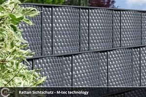 Sichtschutzzaun Kunststoff Grün : sichtschutzstreifen aus kunststoff rattan geflecht ~ Whattoseeinmadrid.com Haus und Dekorationen