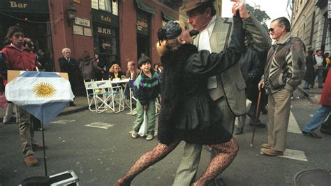Dancing To The Music Of Love In Buenos Aires