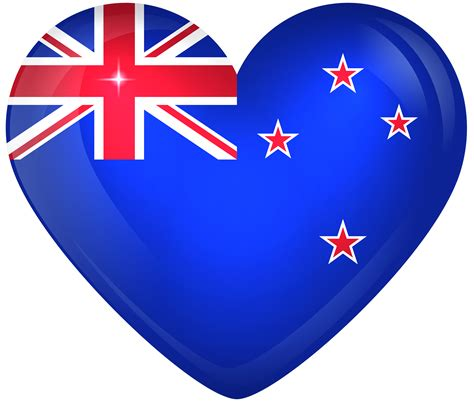 zealand large heart flag gallery yopriceville high quality