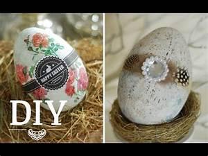 Ostereier Aus Gipsbinden : diy aus 20 cent plastikeiern coole deko ostereier zaubern deko kitchen youtube ~ Eleganceandgraceweddings.com Haus und Dekorationen